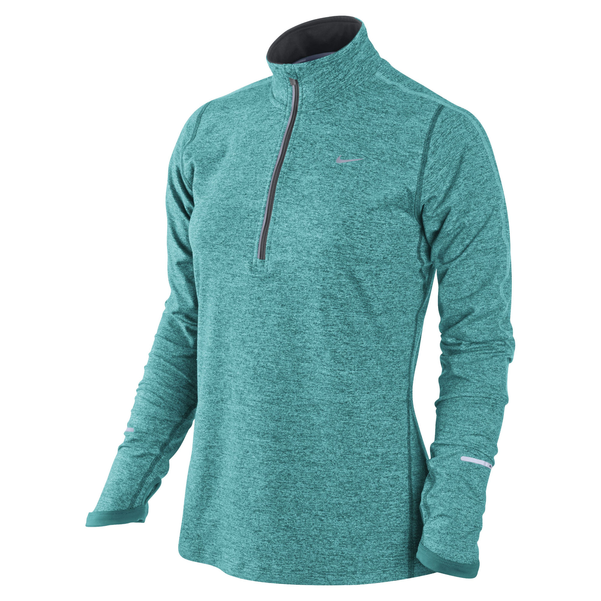 Wiggle nike women 39 s element half zip ho14 long for Women s running shirts