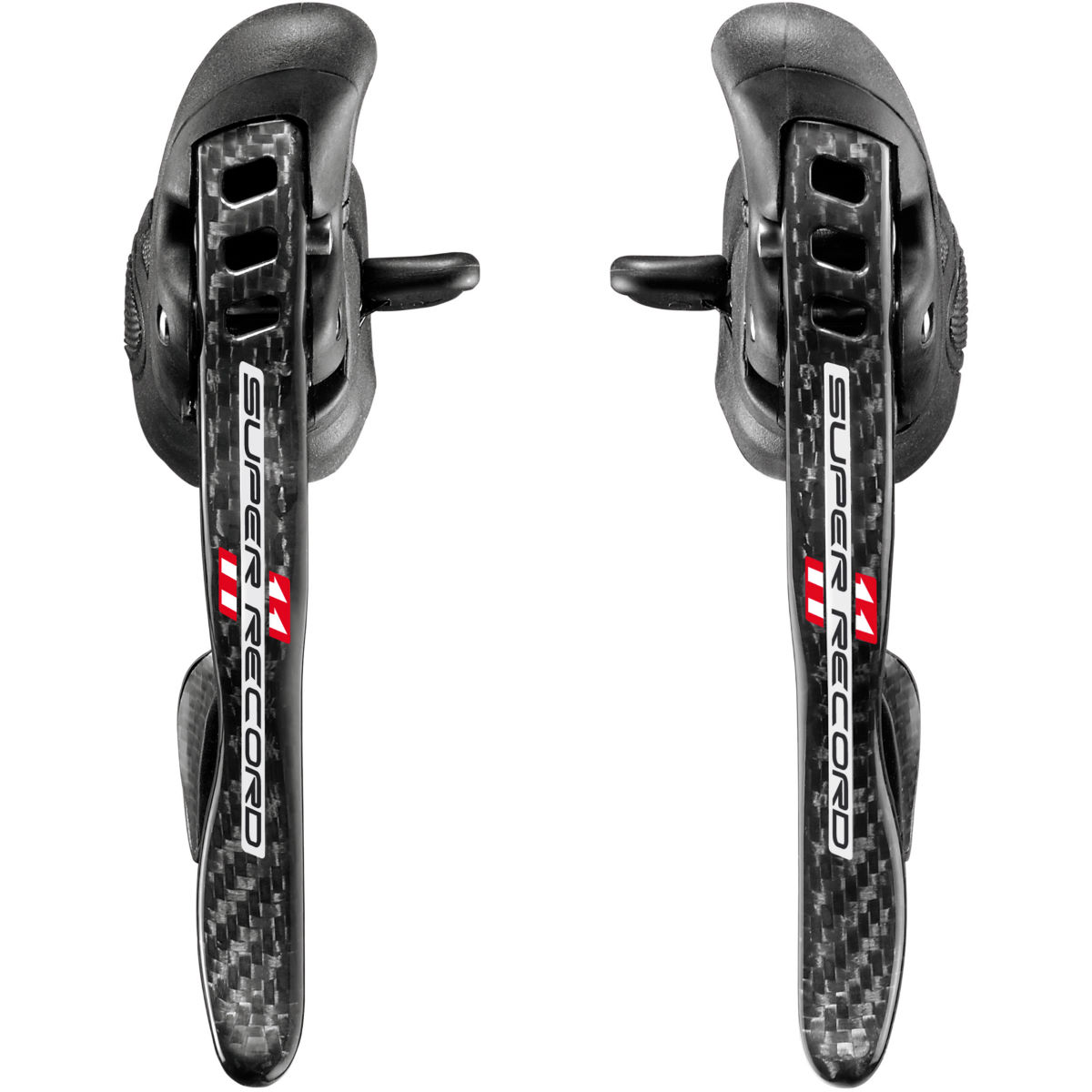 Leviers Campagnolo Super Record Ultra Shift 11 vitesses Ergopower (paire)