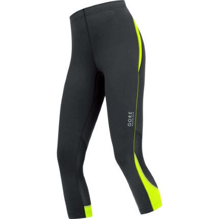 Gore Running Wear Women's ESSENTIAL 3/4 Tights - AW14