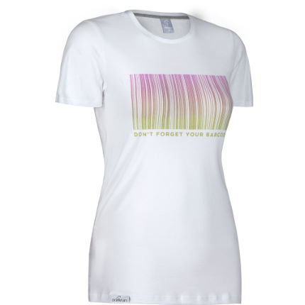 parkrun - Women's Barcode Graphic Tee