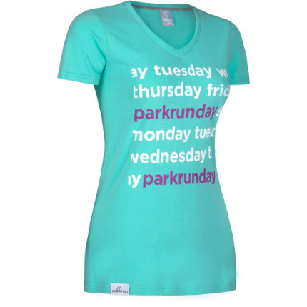 T-shirt donna parkrunday Graphic - parkrun