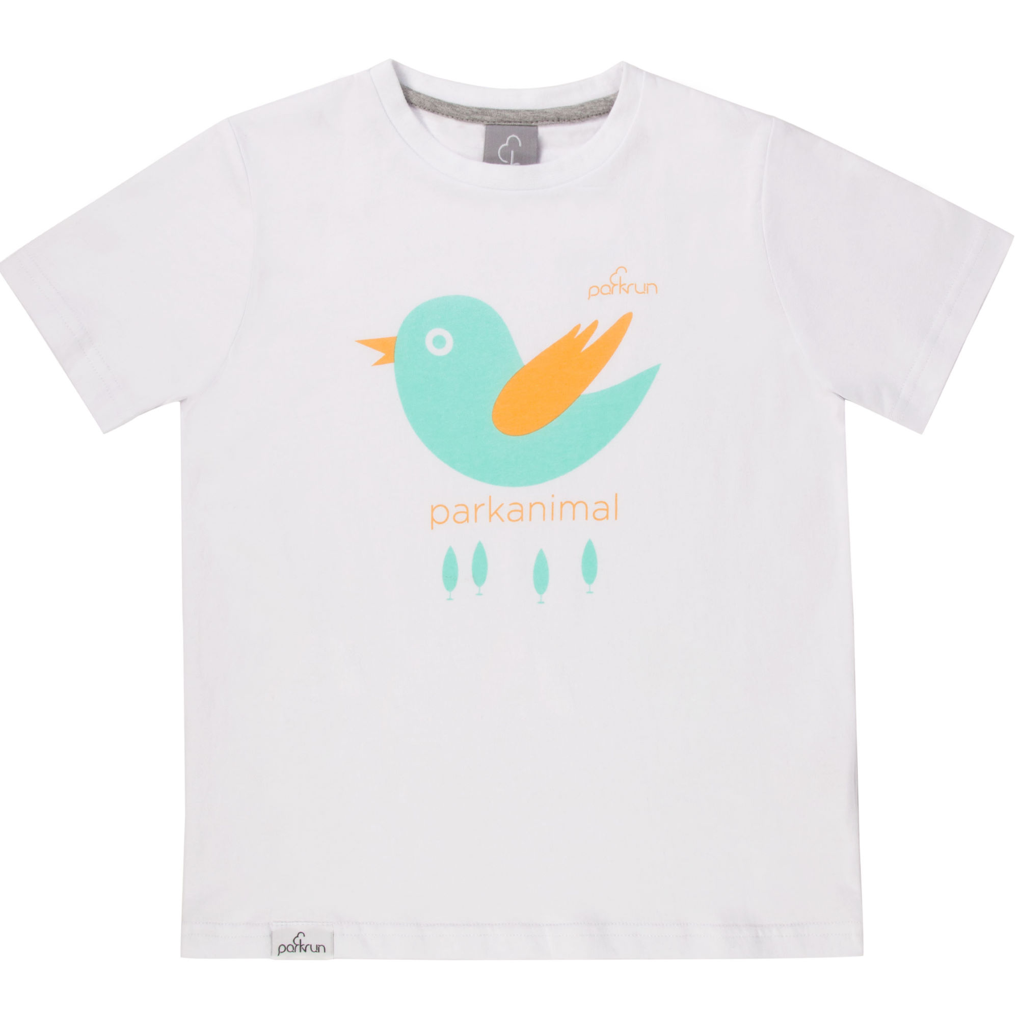 Wiggle parkrun kids birdie graphic tee running short for Graphic t shirts for kids