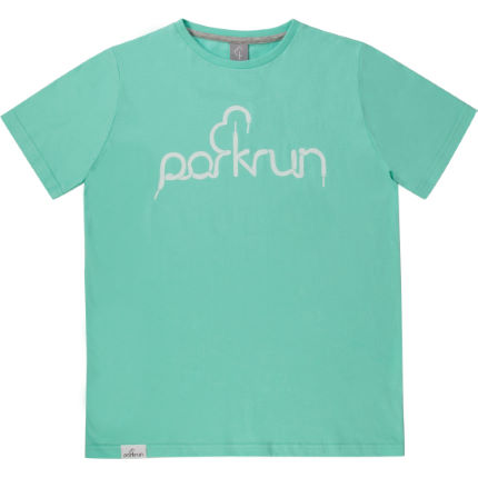 parkrun - Kids Lace Graphic Tee