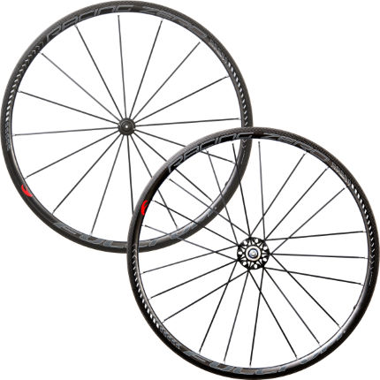 Set di ruote clincher carbonio Racing Zero - Fulcrum