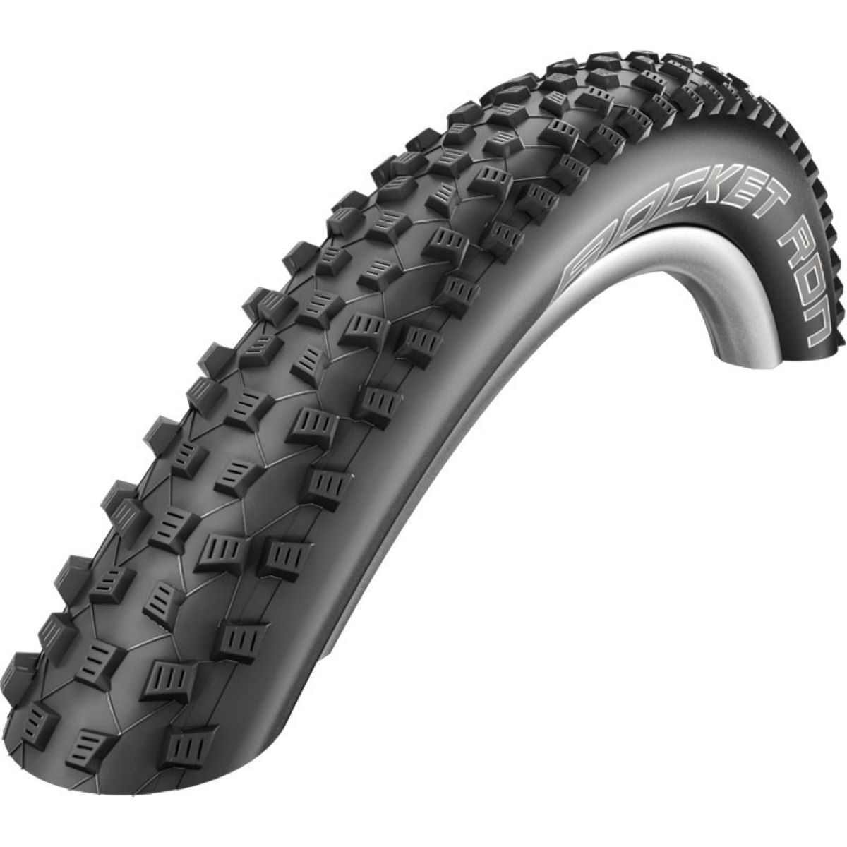 Pneu de cyclo-cross Schwalbe Rocket Ron Evo Liteskin (souple) - 700 x 33c Noir Pneus cyclo-cross