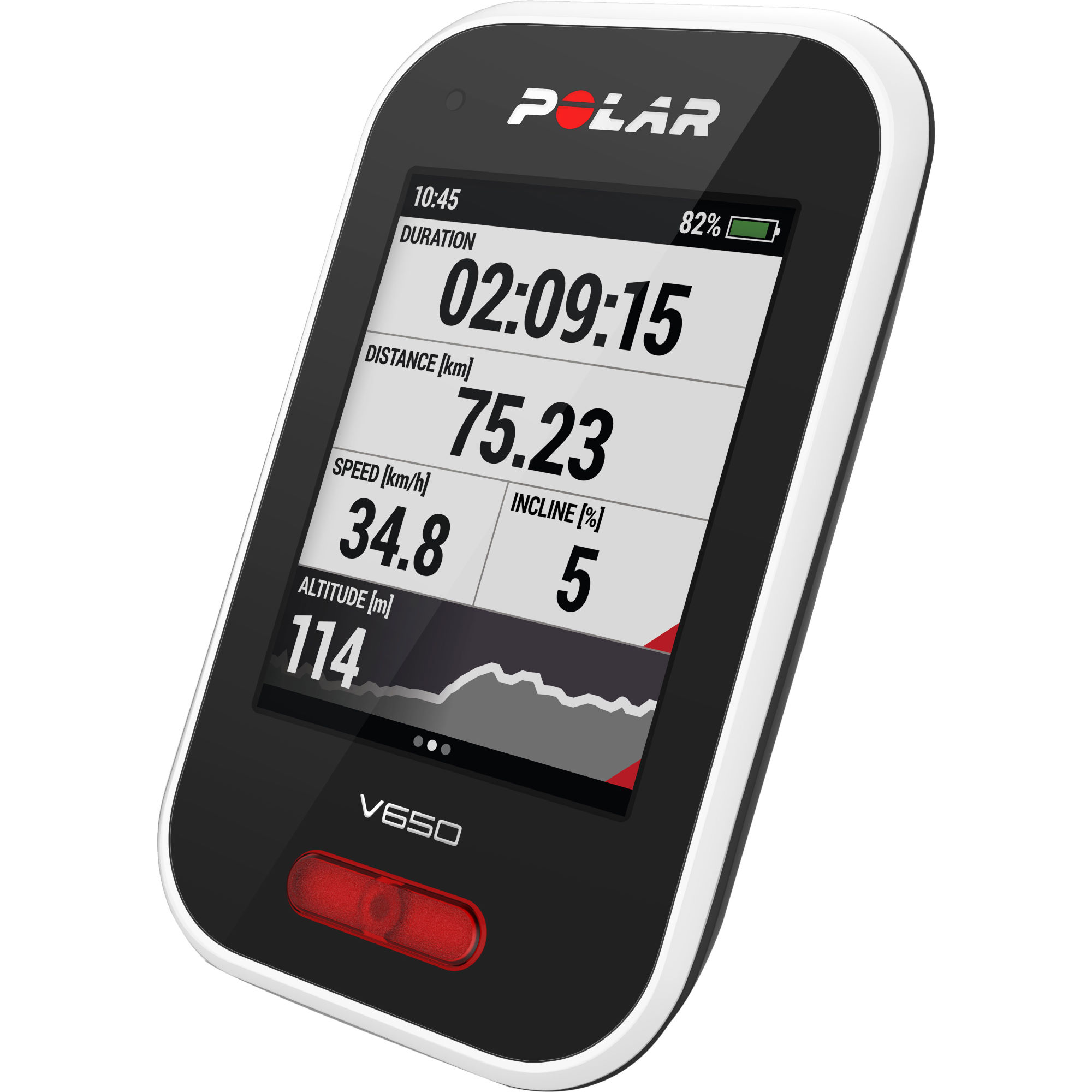 polar v650 gps fahrradcomputer mit herzfrequenzmesser. Black Bedroom Furniture Sets. Home Design Ideas