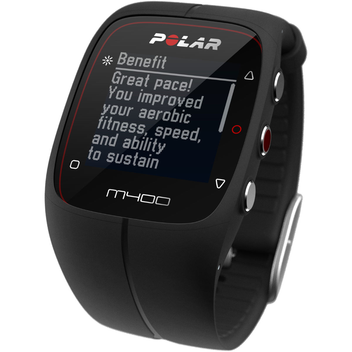 Polar M400 with HRM   GPS Running Computers