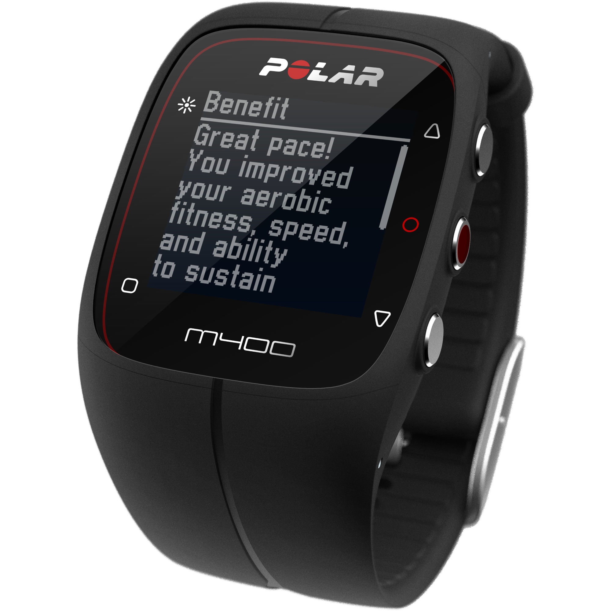 polar m400 gps uhr mit herzfrequenzmesser gps. Black Bedroom Furniture Sets. Home Design Ideas