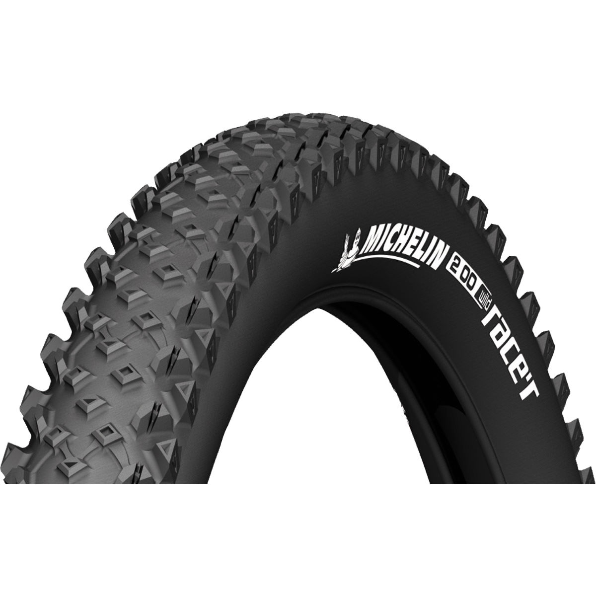 Pneu VTT Michelin Wild Race'r Advanced (souple) - 26 x 2.25 Noir Pneus VTT