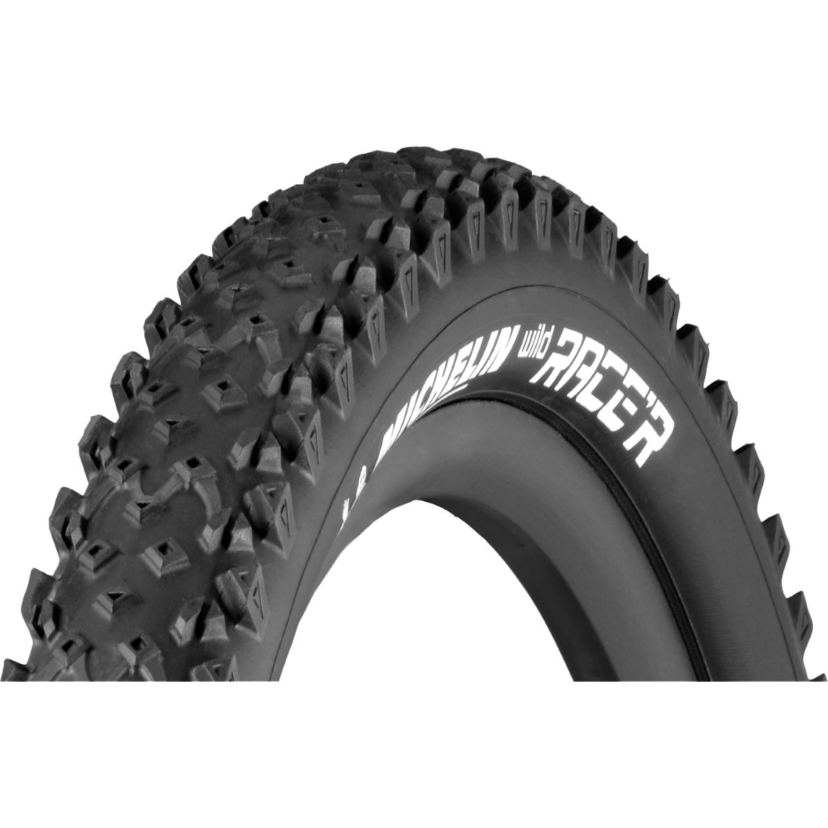 Pneu Michelin Wild Race'r Advanced Reinforced 27,5 pouces (souple) - 27.5 x 2.25 Noir Pneus VTT