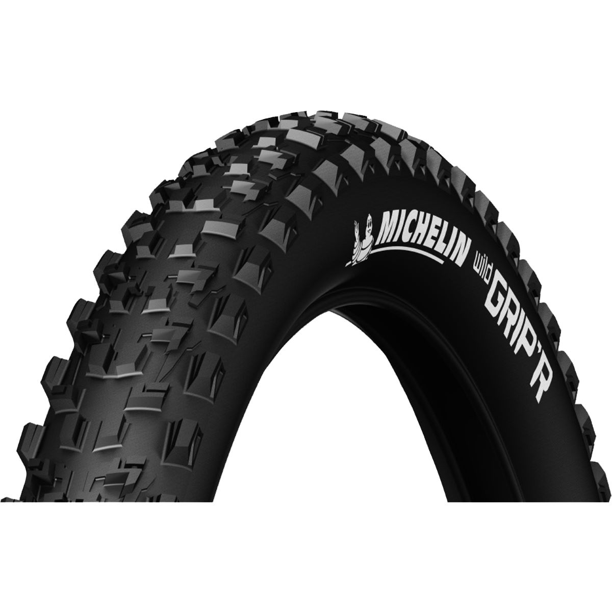 Pneu VTT Michelin Wild Grip'r Advanced 27,5 pouces (souple) - Noir