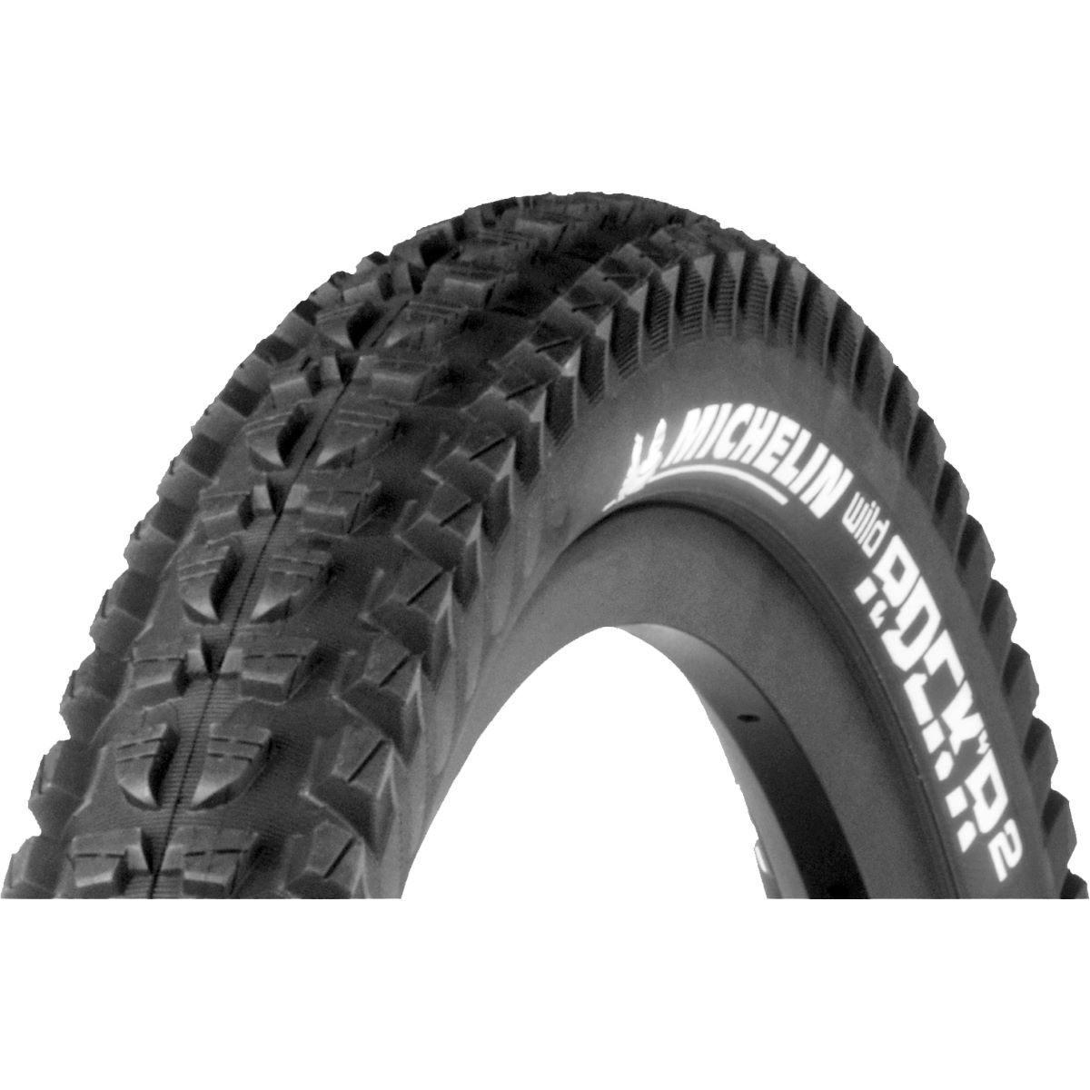 Pneu Michelin Wild Rock'r2 Advanced Reinforced Gum-X - 26 x 2.35 Noir Pneus VTT