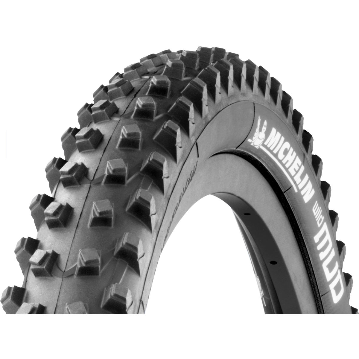Pneu Michelin Wild Mud Advanced Reinforced 27,5 pouces (souple) - 27.5 x 2.25 Noir Pneus VTT