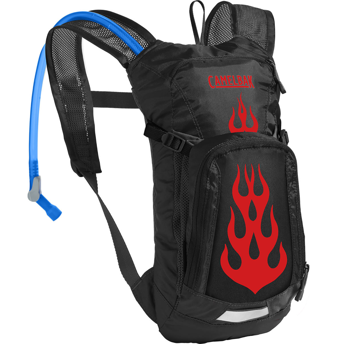 Sac d'hydratation Enfant Camelbak Mini MULE - One Size Black/Flames