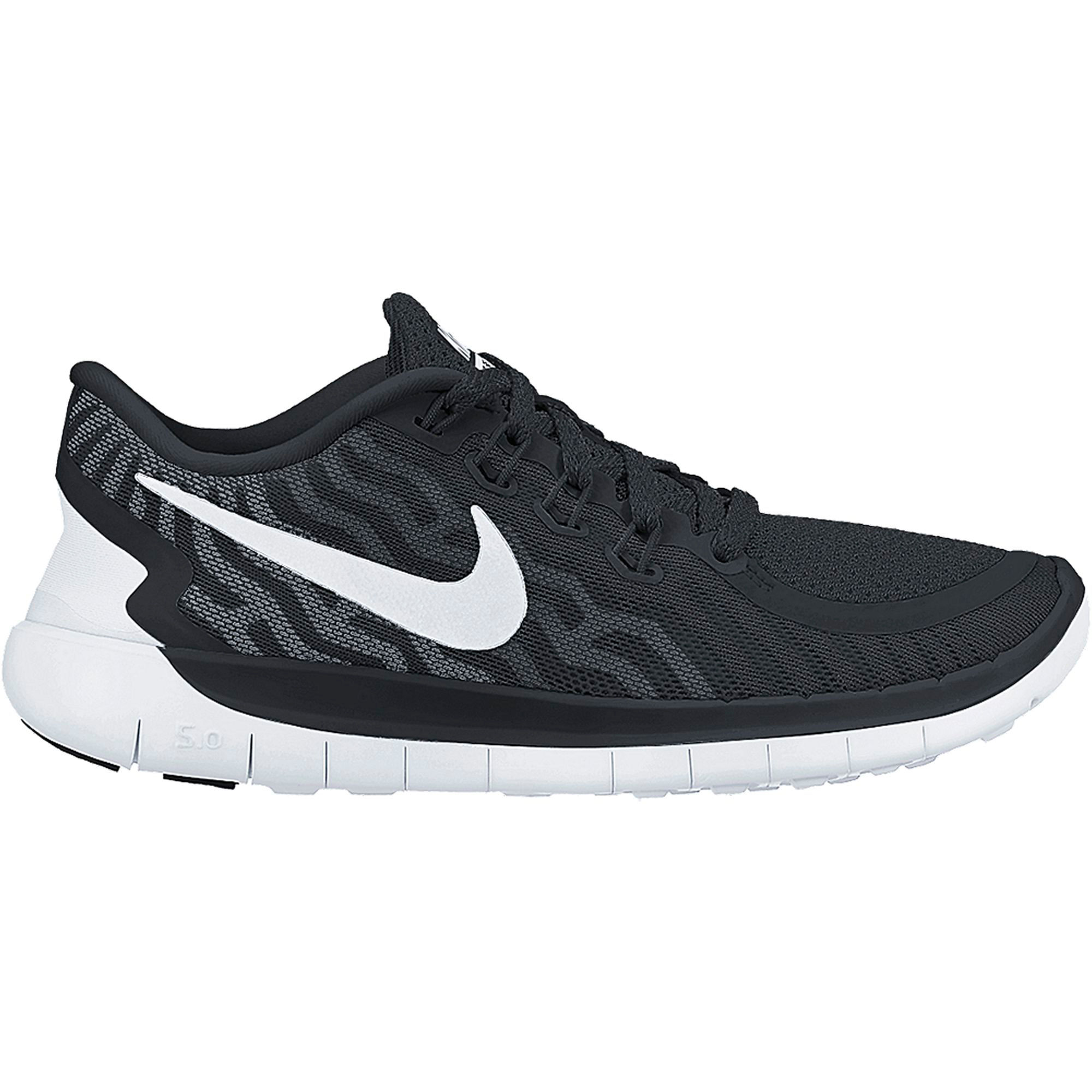 Nike Free 5.0 Black Running Shoes
