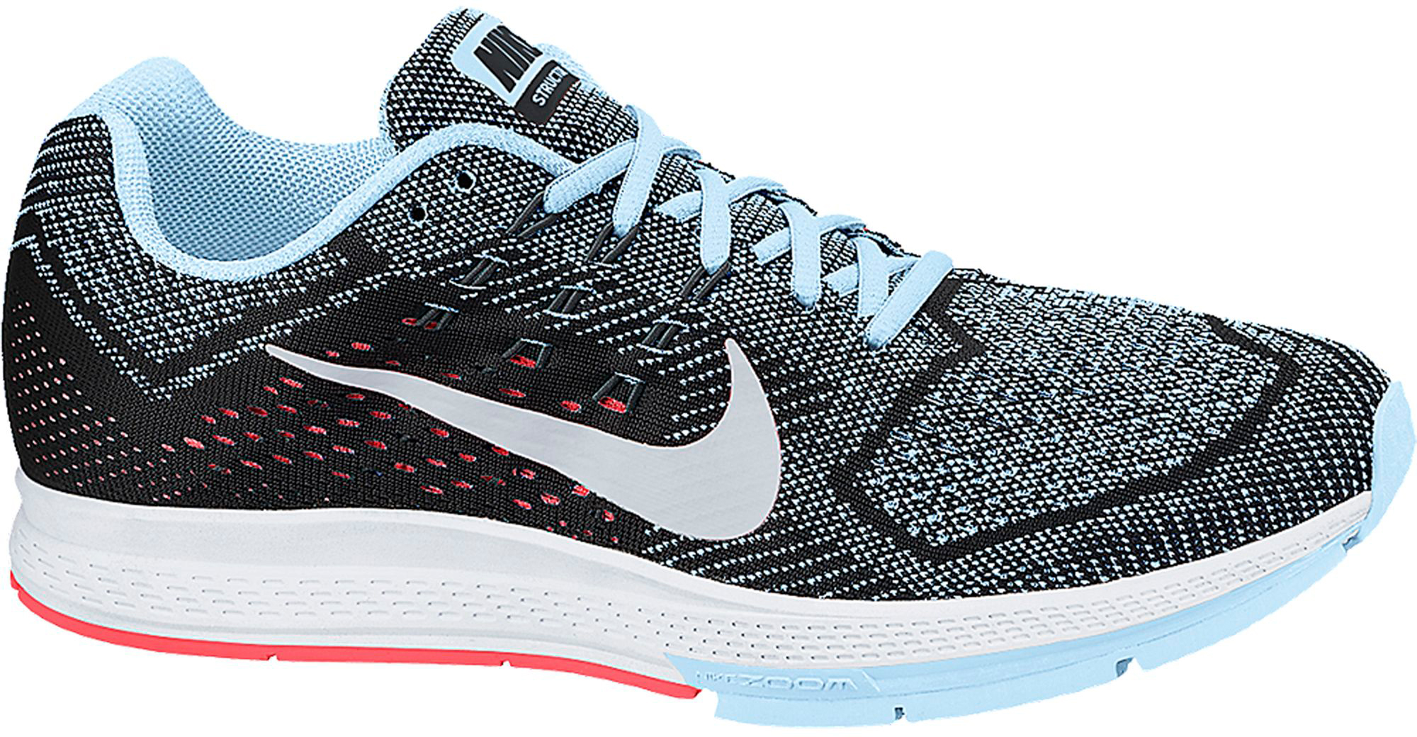 womens nike zoom structure 18 grey white