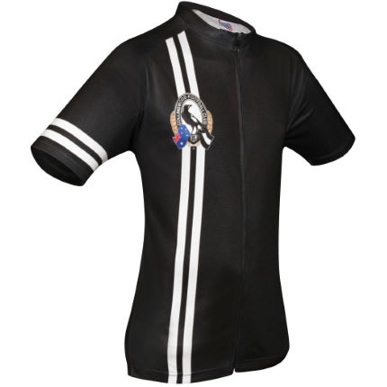 HUB Apparel AFL Licensed Cycling SS Jersey - Collingwood