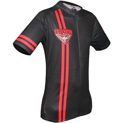HUB Apparel AFL Essendon fietstrui met korte mouwen