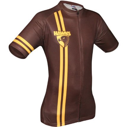 HUB Apparel AFL Licensed Cycling SS Jersey - Hawthorn