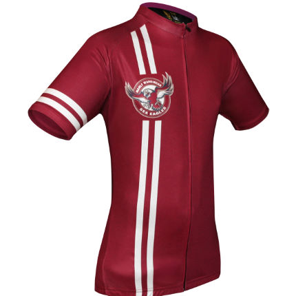HUB Apparel NRL Licensed Cycling SS Jersey - Manly
