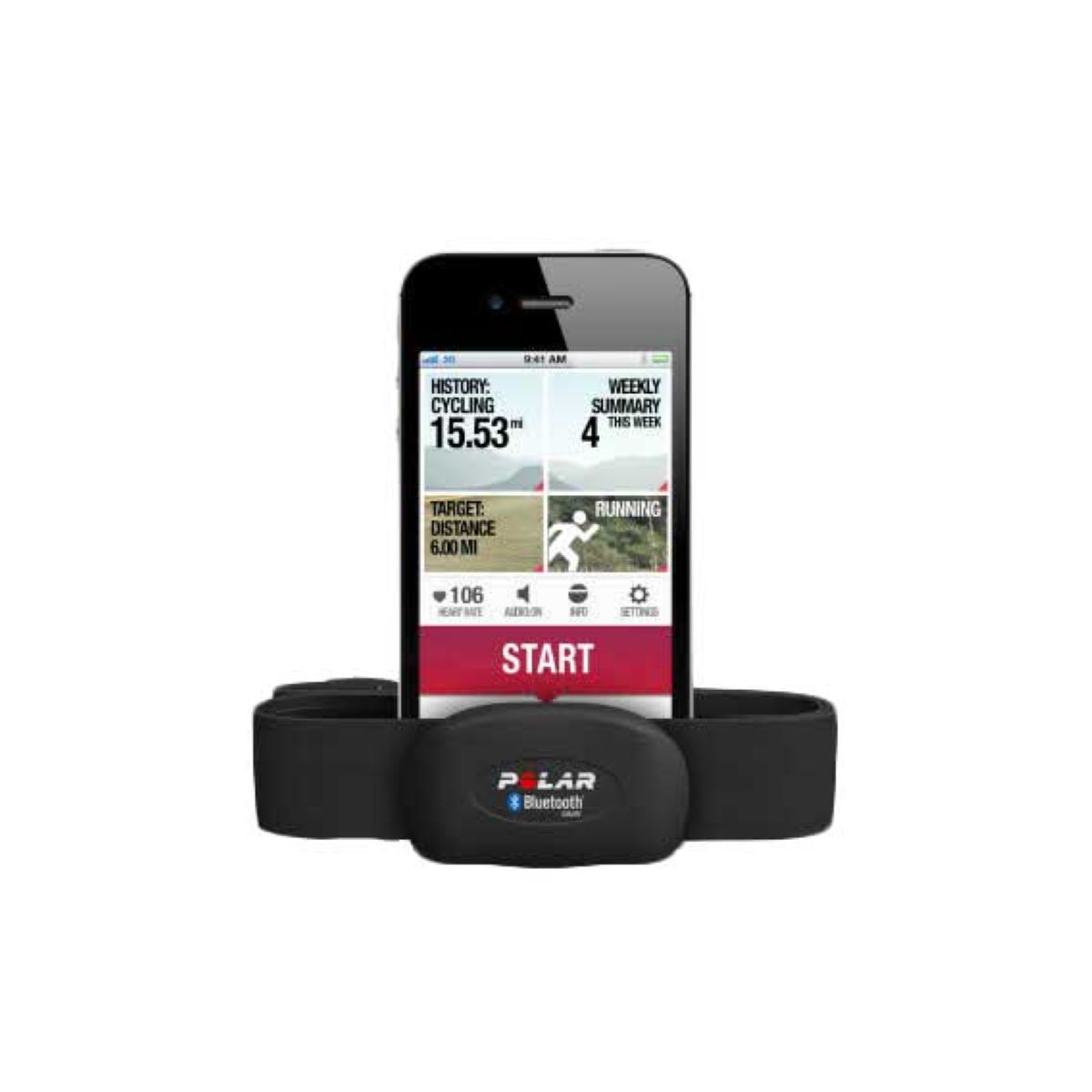 Polar H7 Heart Rate Sensor Set