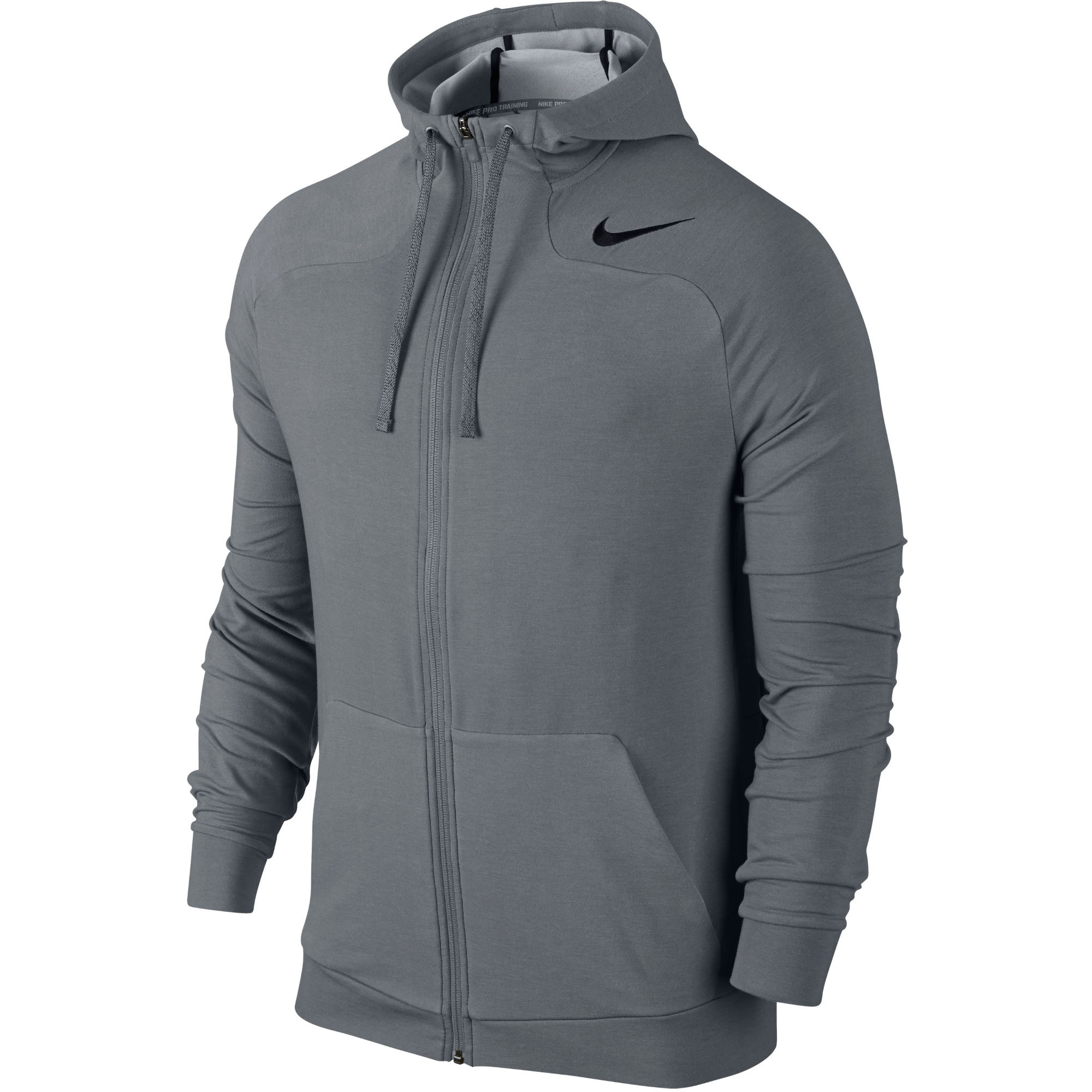 Wiggle nike dri fit touch fleece full zip hoodie sp15 for Under armour dri fit long sleeve shirts