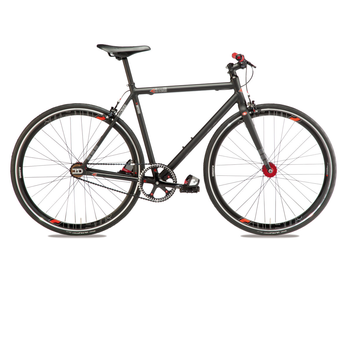 Vélo single-speed Cinelli Bootleg Mystic (2016) - M Noir Single speed
