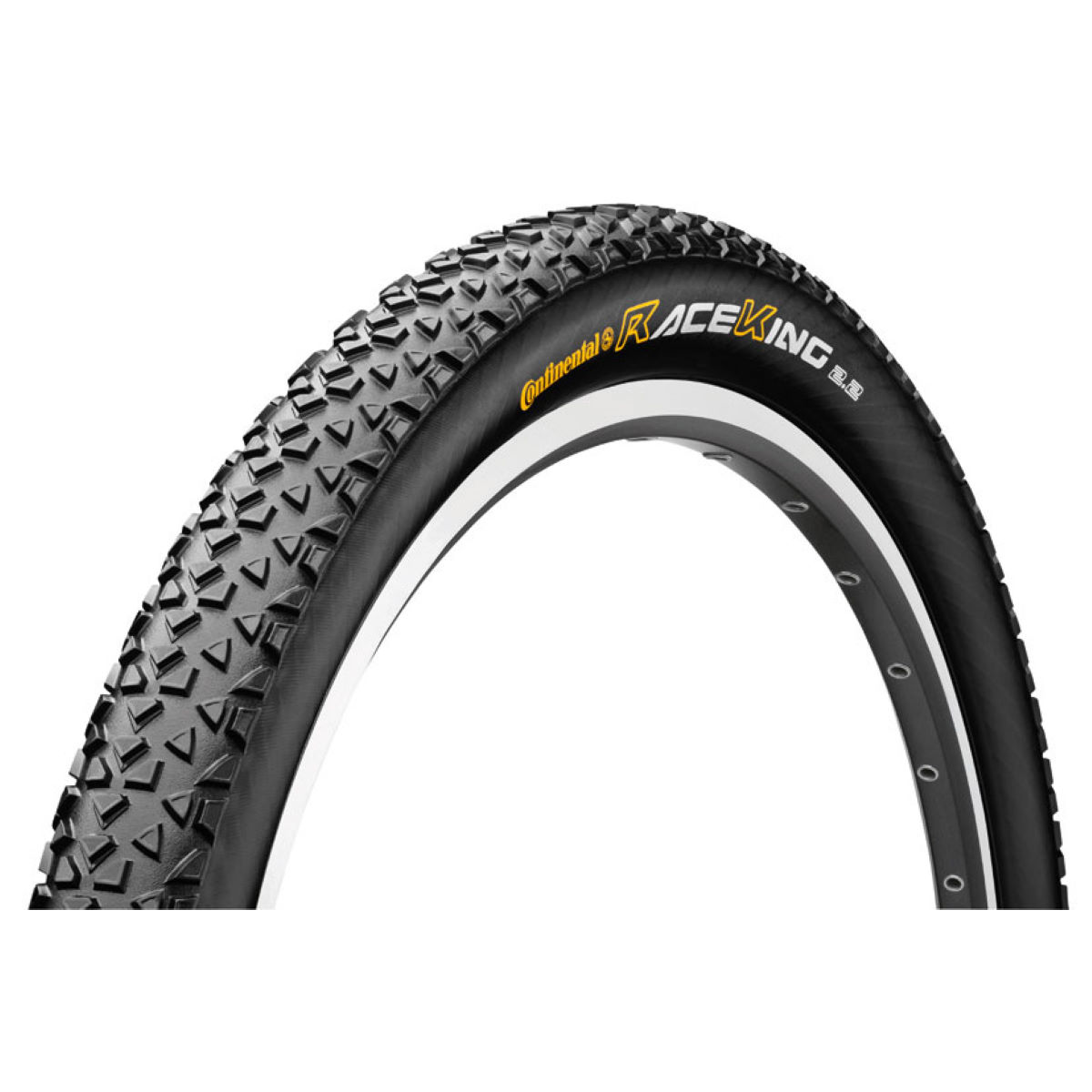 Pneu VTT Continental Race King Pure Grip (souple) - 2' 26' Noir