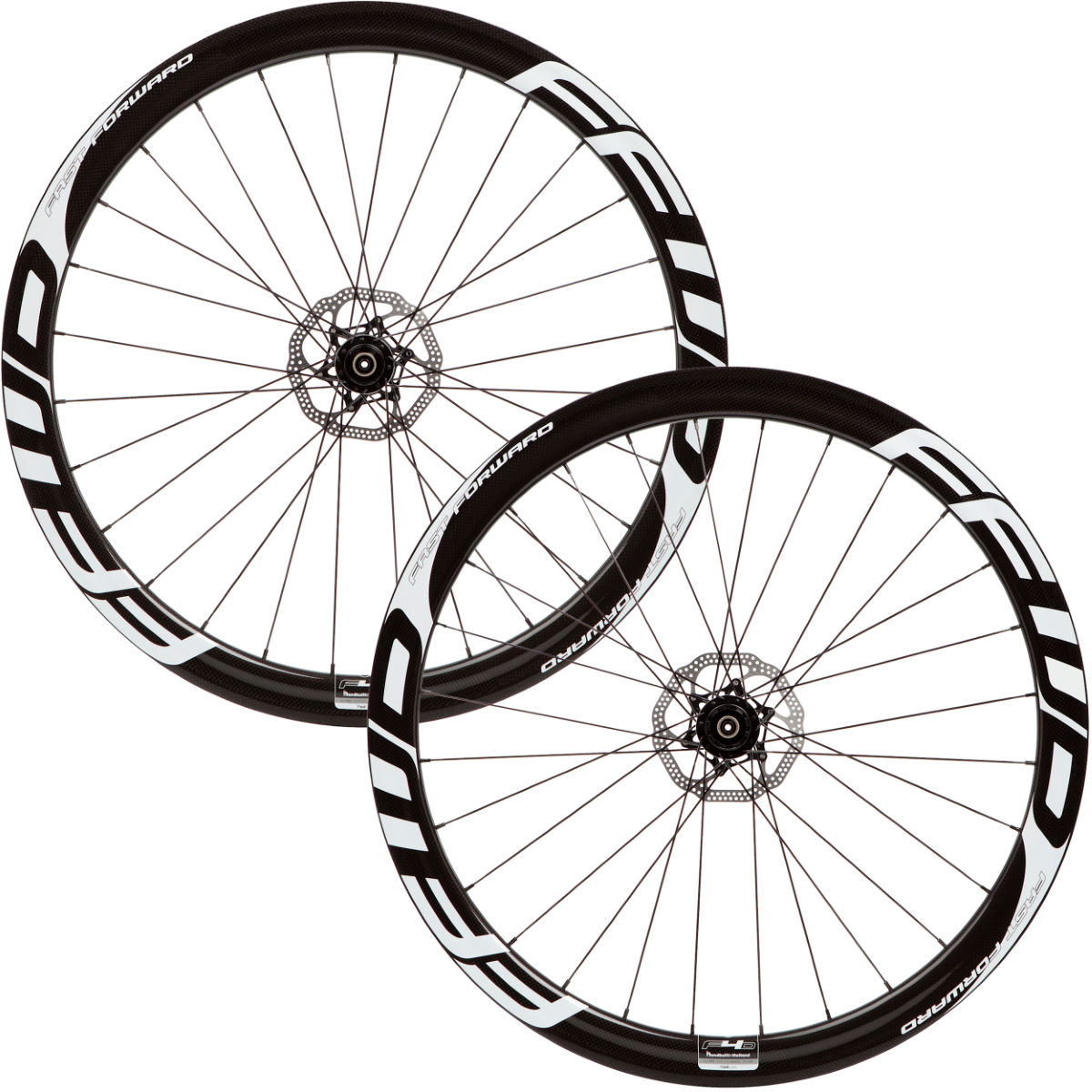 Fast Forward F4D Carbon Tubular Disc Brake Wheelset