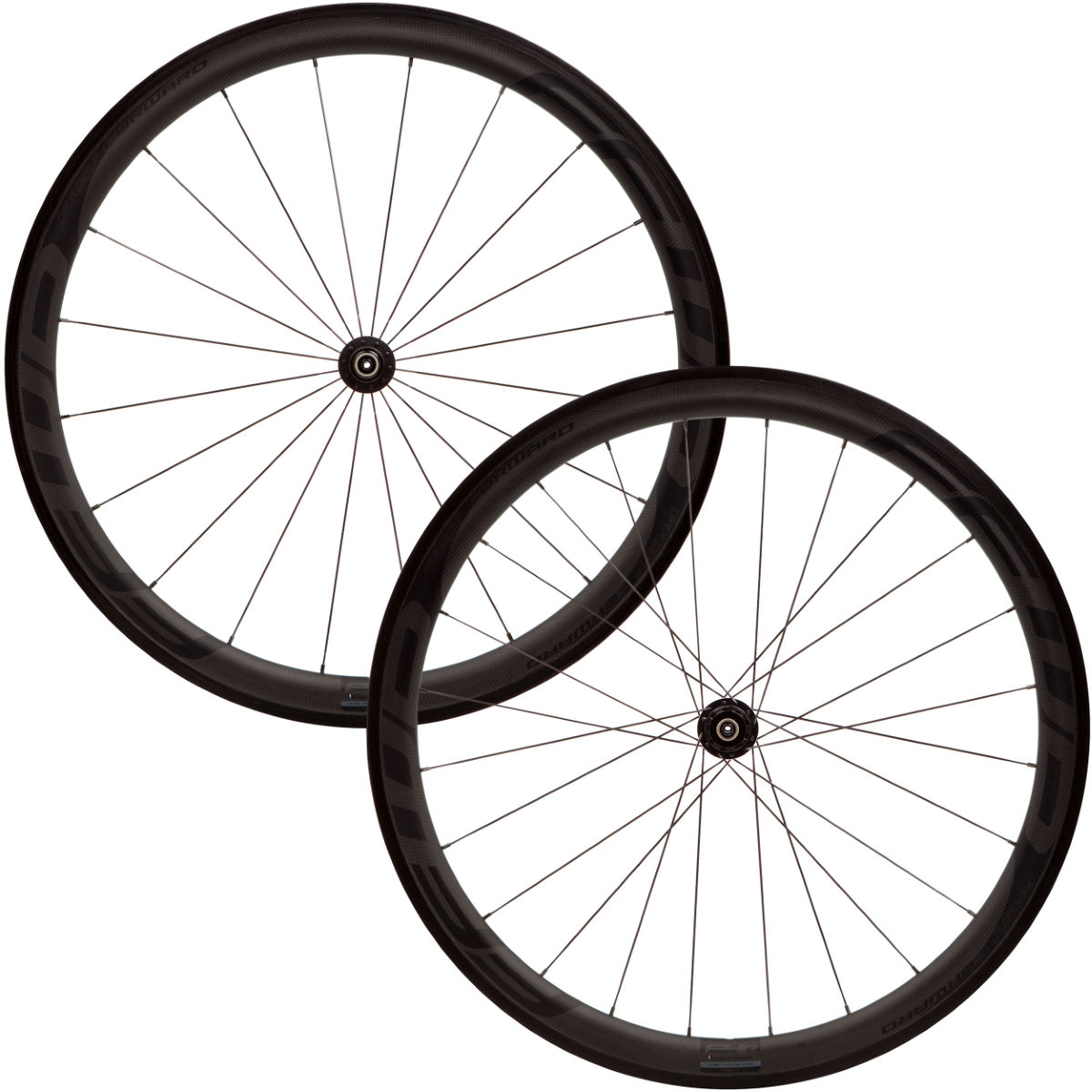 Fast Forward F4R Full Carbon Clincher 240s Wheelset (Black)