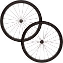 Fast Forward - F4R fuld carbon clincher 240s Hjulsæt (sort)