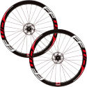 Fast Forward F4D Full Carbon Clincher Disc Brake 240 Wheelset