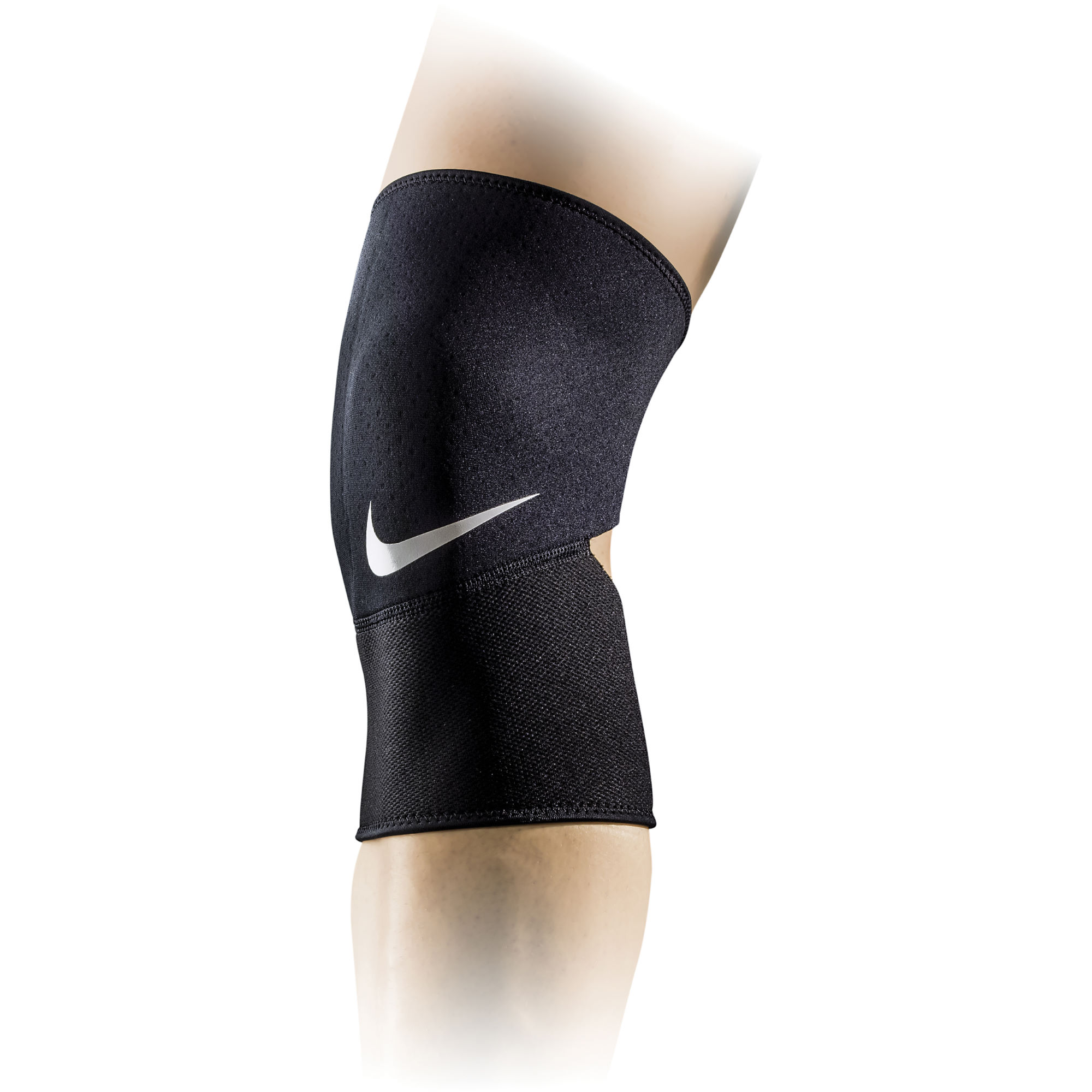 wiggle nike pro combat closed patella knee sleeve ho15 first aid injury. Black Bedroom Furniture Sets. Home Design Ideas