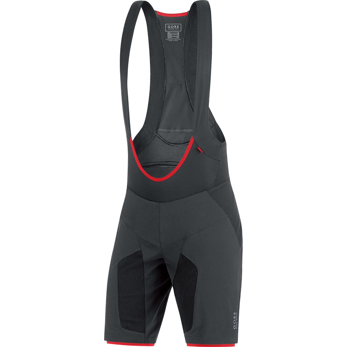 Short à bretelles Gore Bike Wear Alp-X Pro+ (2 en 1) - XXL Noir