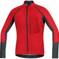 Gore Bike Wear Alp-X Pro Windstopper Softshell Zip-Off Jersey Blu