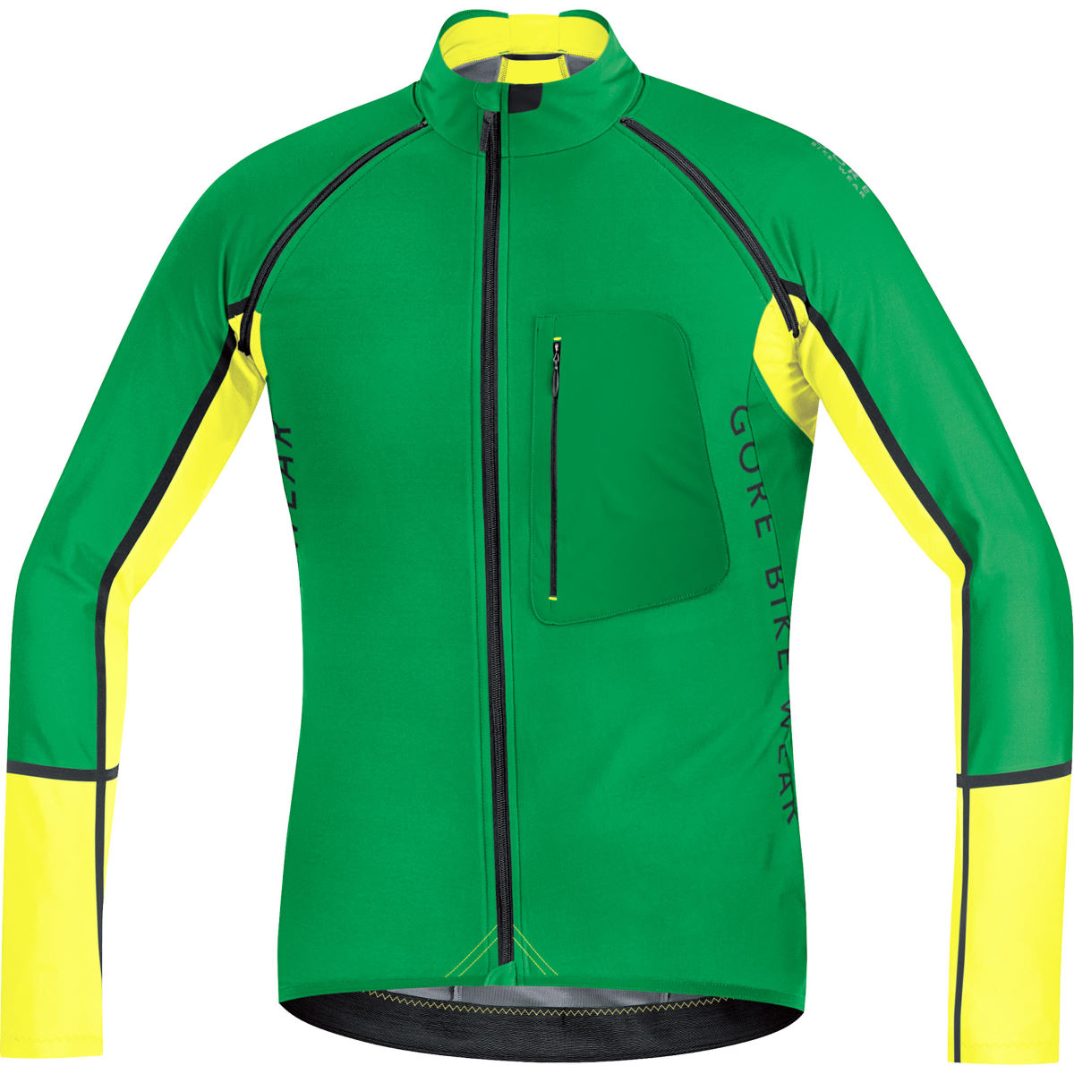 Chaqueta convertible Gore Bike Wear Alp-X Windstopper Soft Shell - Cortavientos - ciclismo