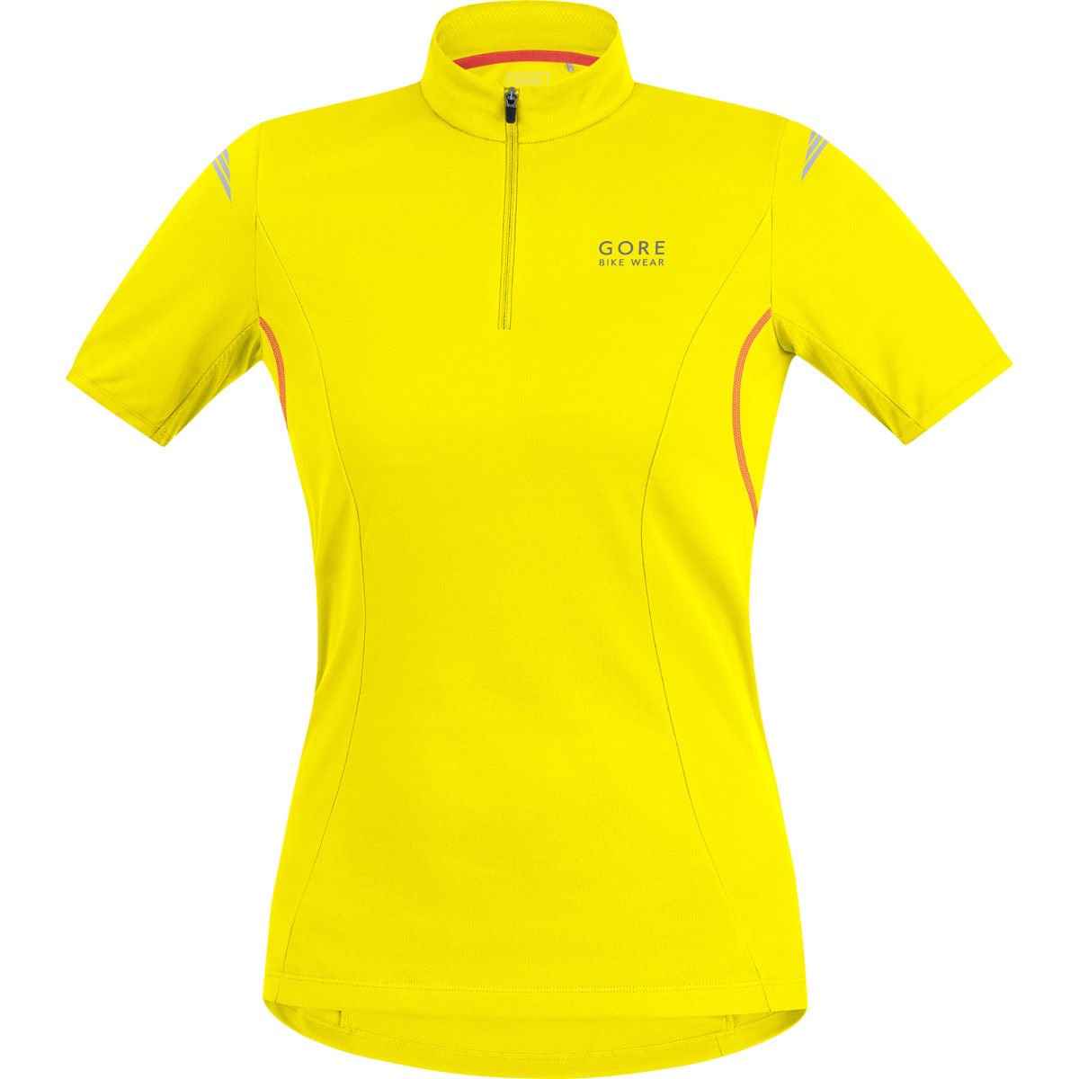 Gore Bike Wear Women's Element Short Sleeve Jersey - X Small Yellow
