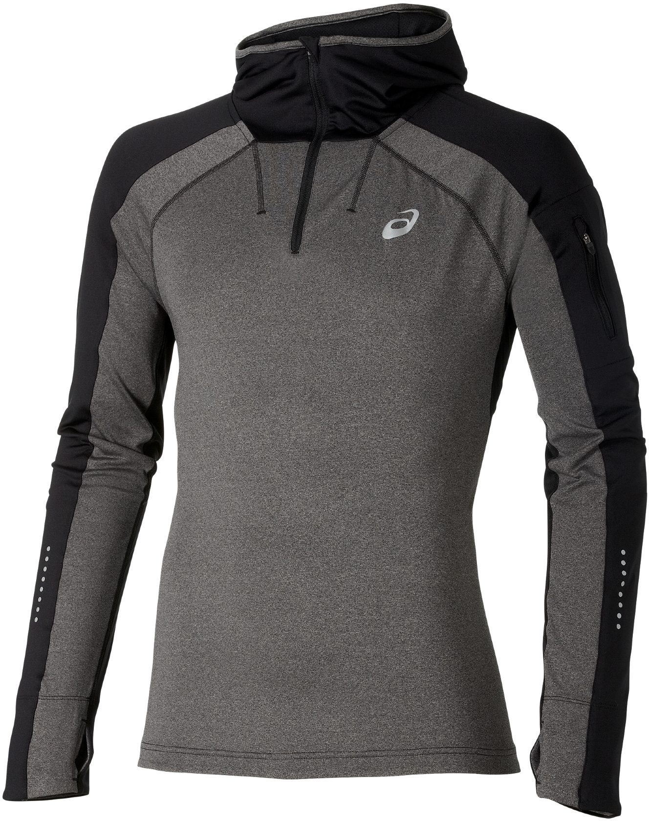Running Hooded Long Sleeve