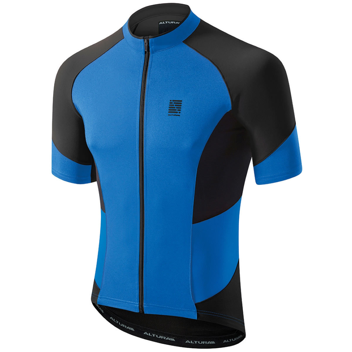 Altura Peloton Short Sleeve Jersey - Large Blue/Black