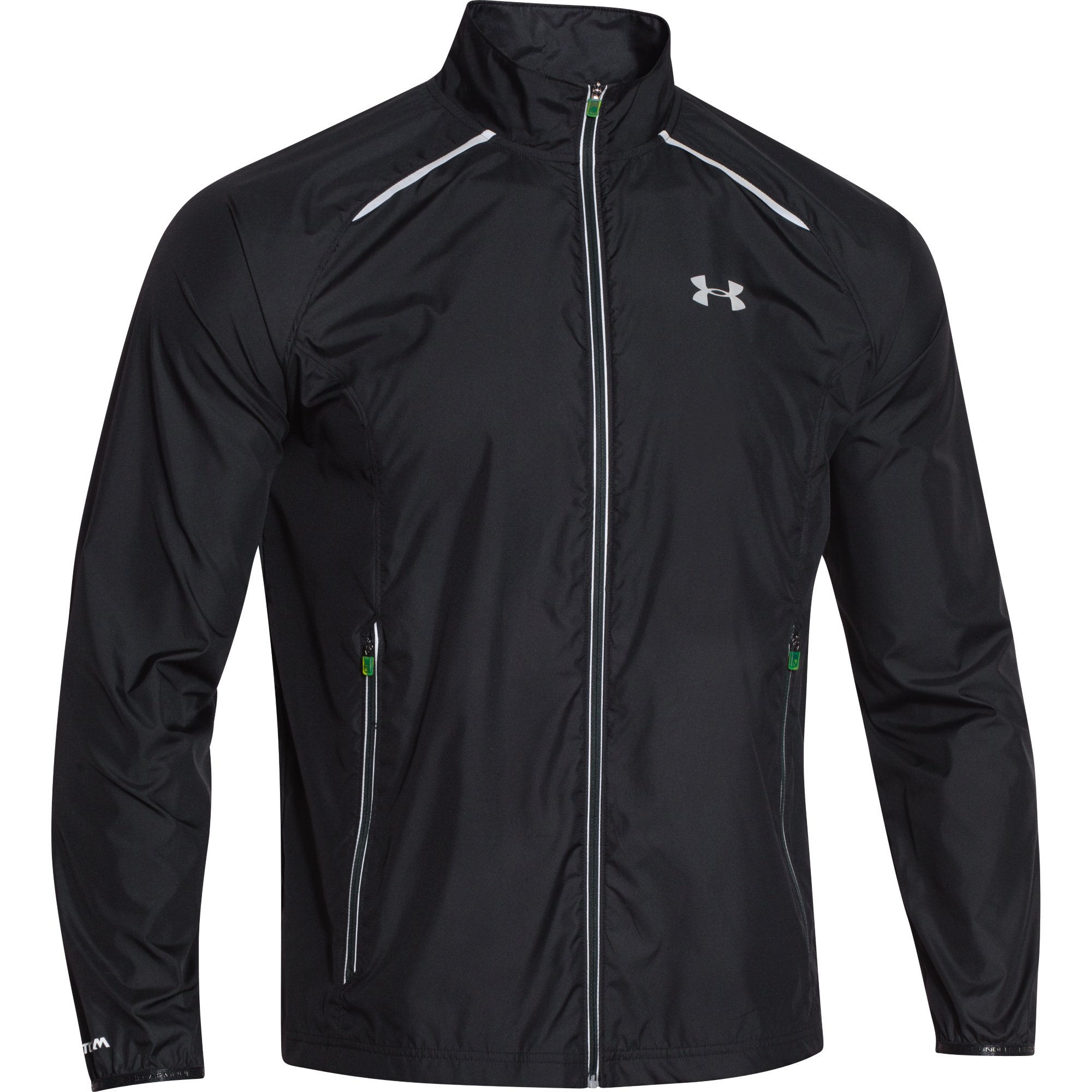 wiggle under armour storm launch jacket aw15 running windproof jackets. Black Bedroom Furniture Sets. Home Design Ideas