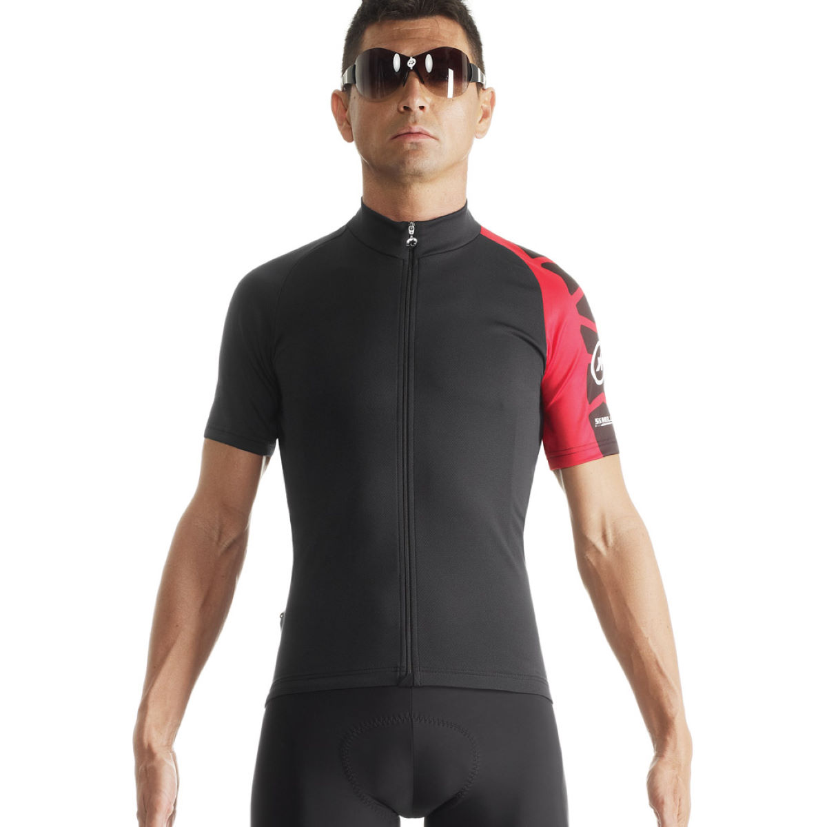 Maillot Assos SS.mille_evo7 - XL National Red Maillots vélo à manches courtes