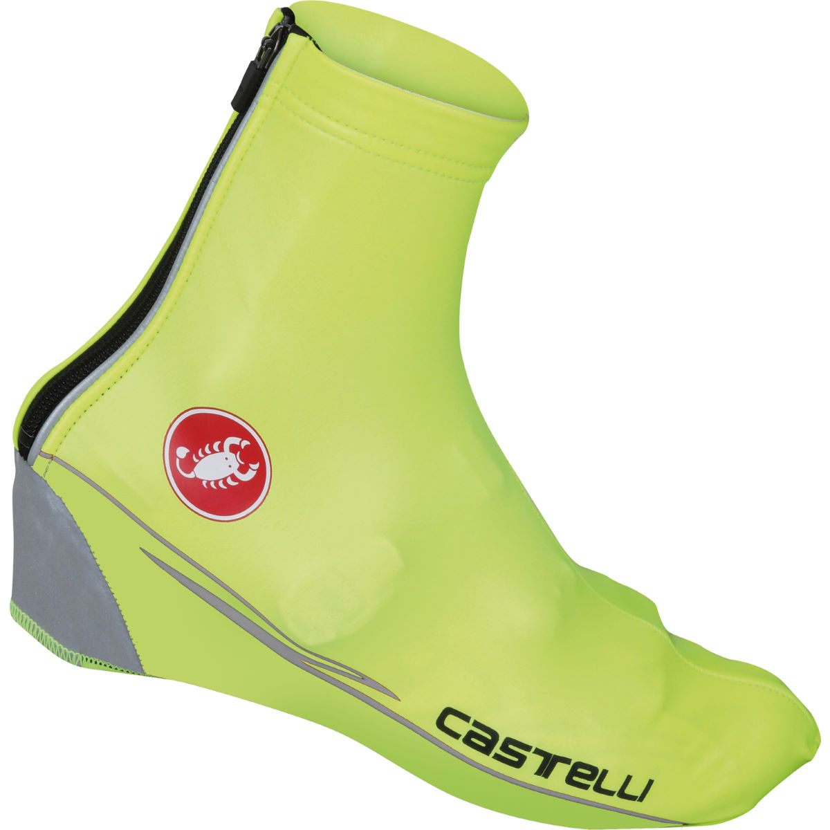 Couvre-chaussures Castelli Nano - S Yellow Fluo Couvre-chaussures