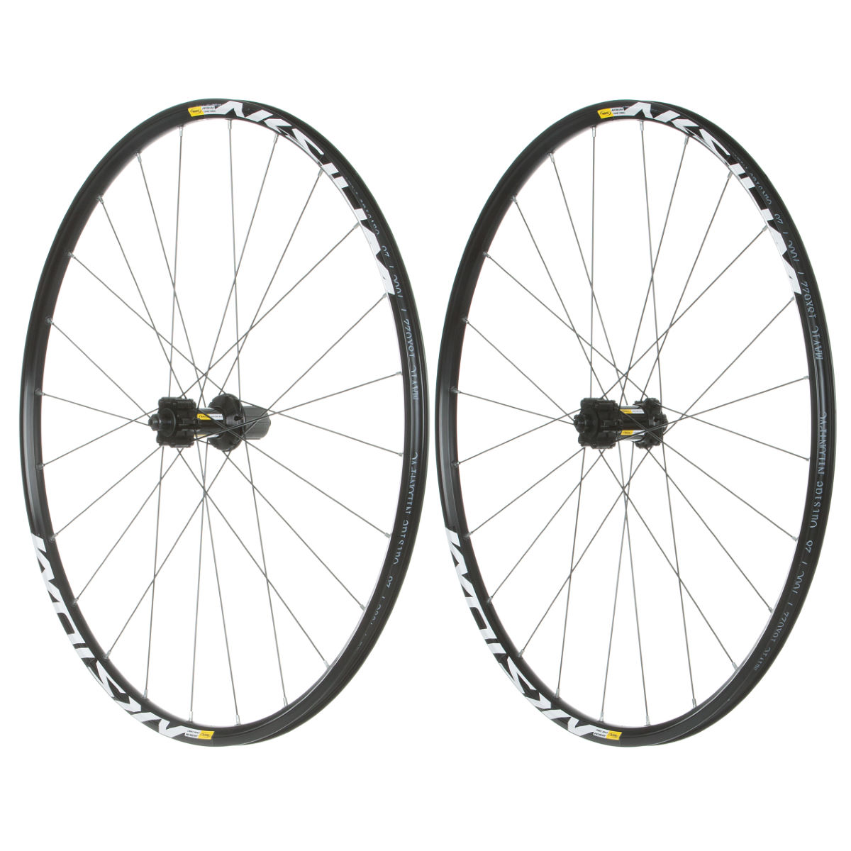 Mavic Aksium One Disc Alloy Clincher Wheelset