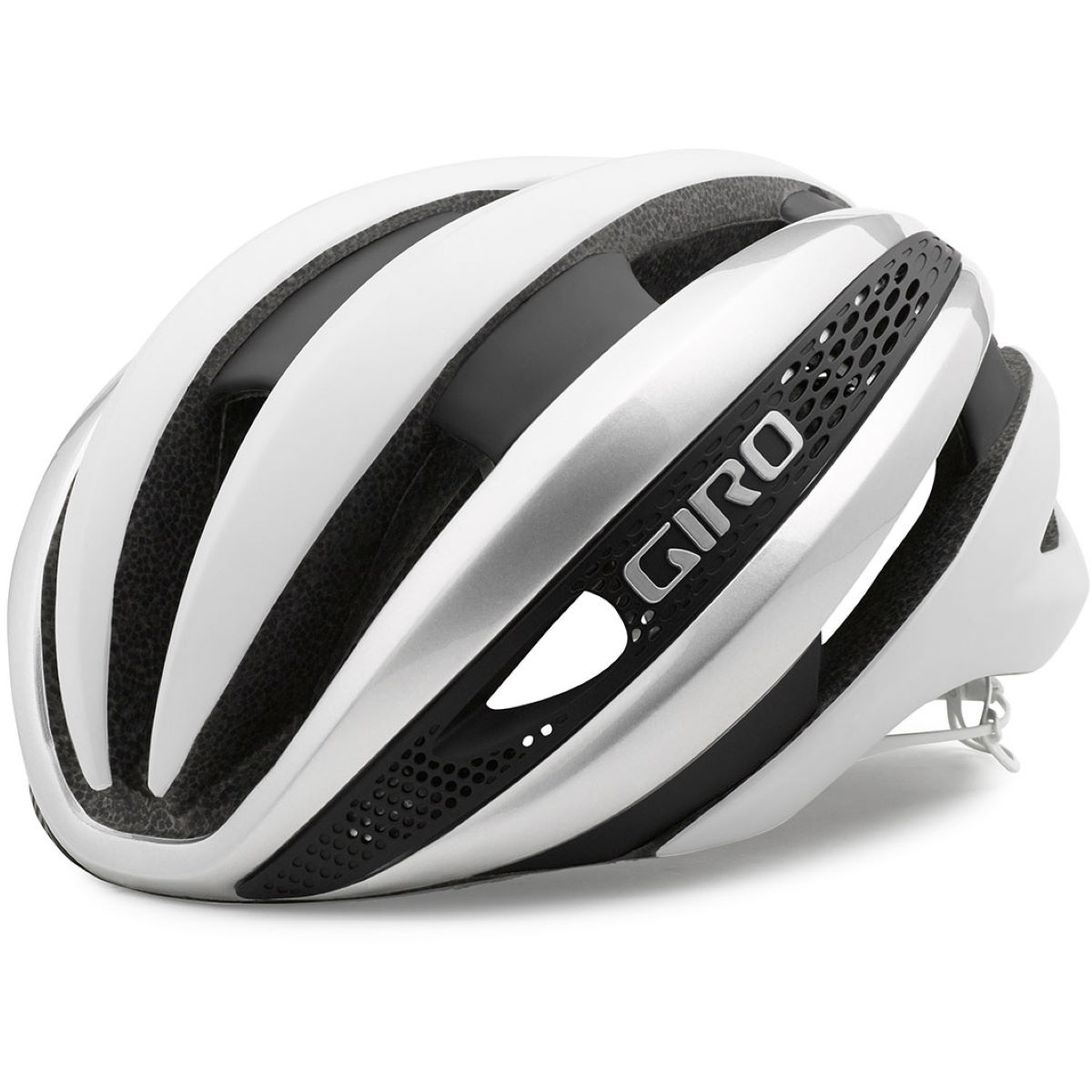 Casque Giro Synthe - Small 51-55cm Blanc/Argenté Casques de route