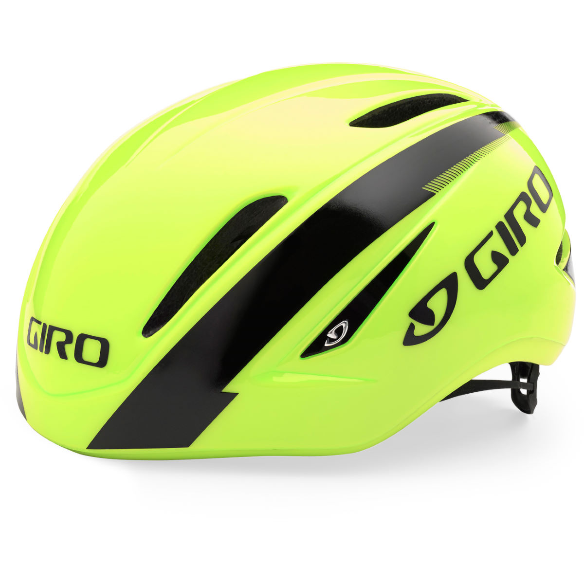 Casque de route Giro Air Attack - Small 51-55cm Jaune/Noir Casques de route