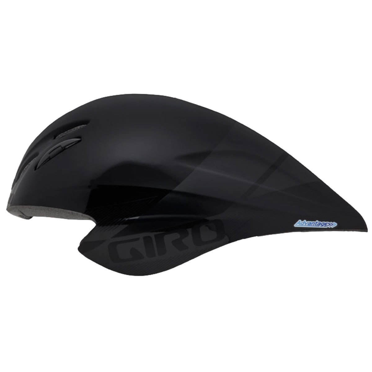 Casque de contre-la-montre Giro Advantage 2 - Small 51-55cm Noir/Noir Casques de route