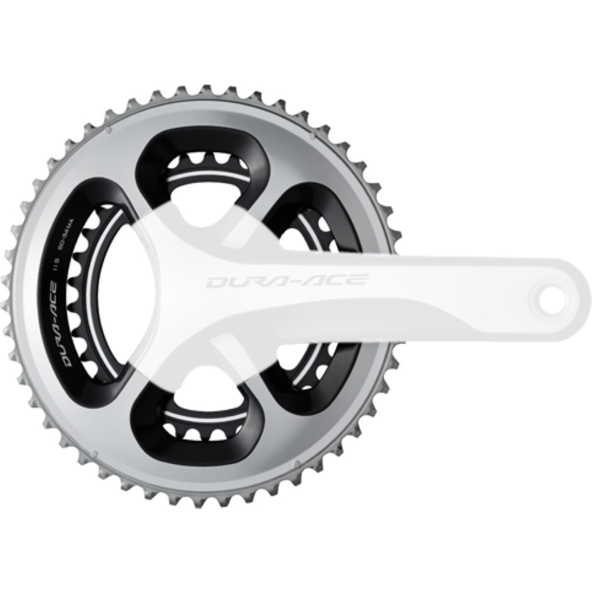 Shimano Dura Ace FC-9000 39T/38T and 36T Inner Chainring