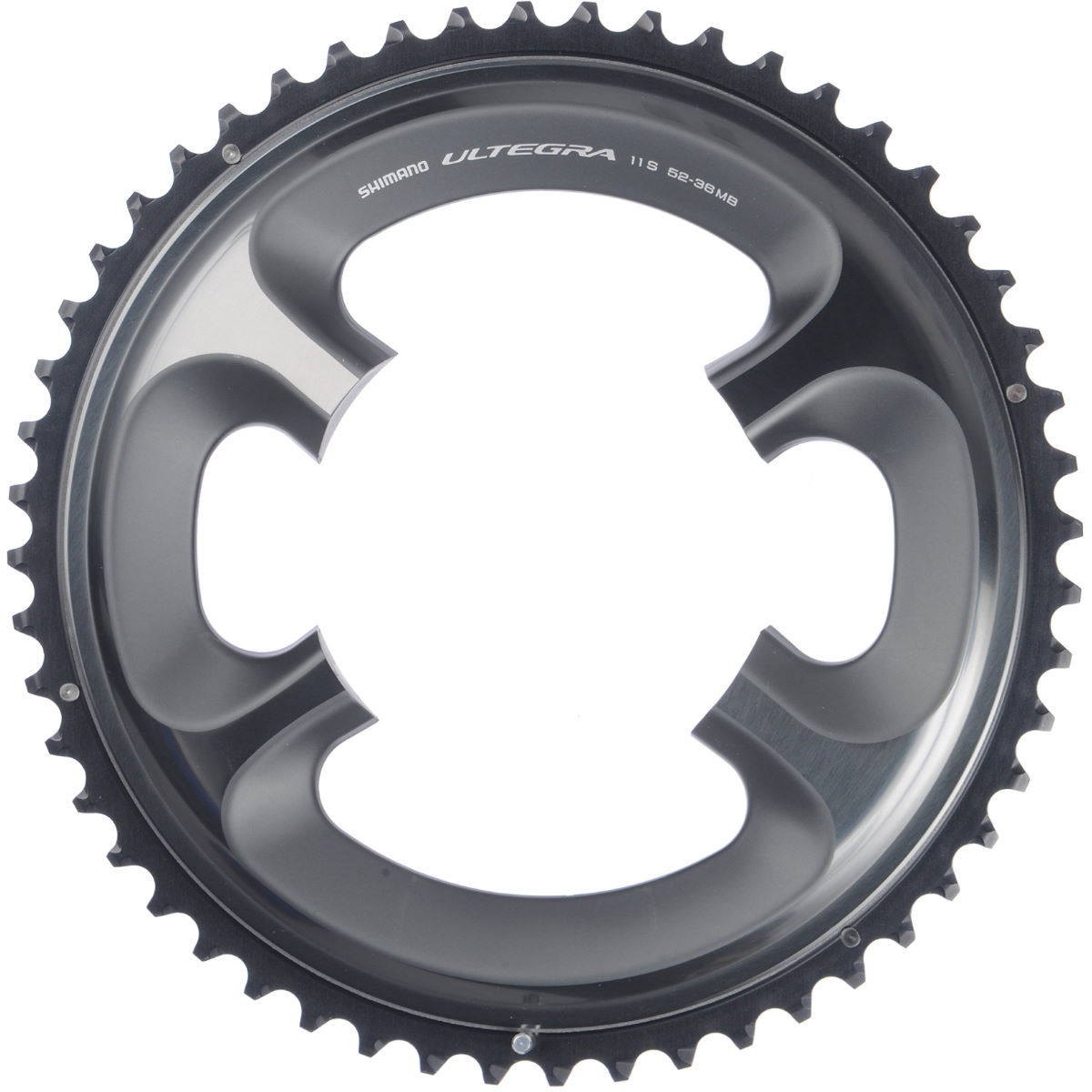 Plateau externe Shimano Ultegra FC-6800 - 52 Tooth (52-36) Gris