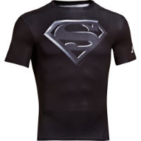 Under Armour Alter Ego compressieshirt met Superman logo HW15