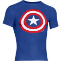 Maillot de compression Under Armour Alter Ego (Captain America)